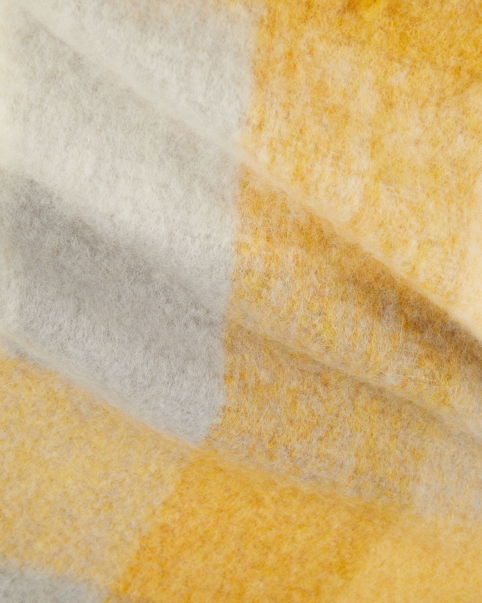 Ibisco Alpaca Scarf, YELLOW, hi-res