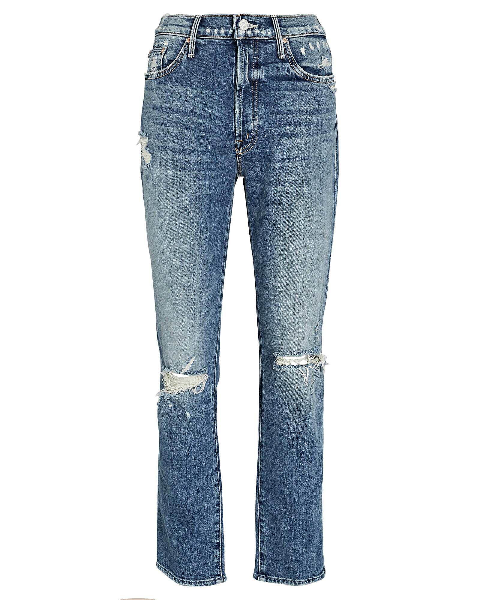 Trickster Distressed Straight-Leg Jeans, ON HOLY GROUND, hi-res