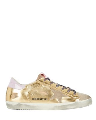Superstar Low-Top Sneakers, GOLD, hi-res