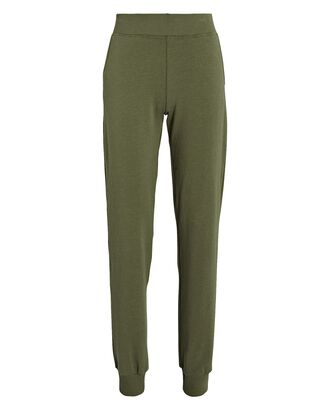 Moss Cotton-Blend Joggers, OLIVE/ARMY, hi-res