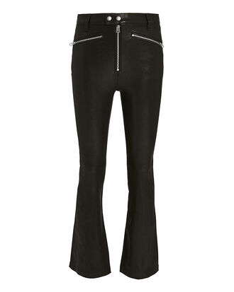 Braxton Leather Pants, BLACK, hi-res