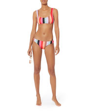 Elle Malibu Stripe Bikini Top, MULTI, hi-res