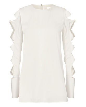 Knot Detail Blouse, IVORY, hi-res