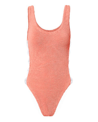 Greta Pink One Piece Swimsuit, PINK, hi-res