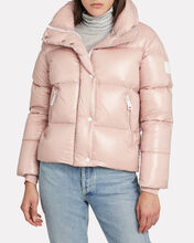 Mia Down Puffer Jacket, BLUSH, hi-res
