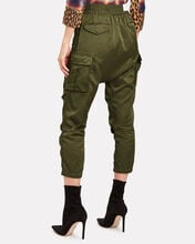 Harem Cargo Joggers, OLIVE/ARMY, hi-res