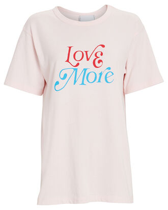 Love More Oversized T-Shirt, PINK, hi-res