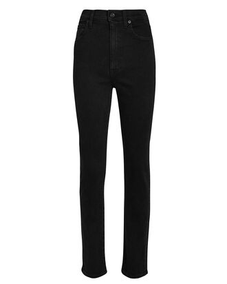 Beatnik Slim High-Rise Jeans, BLACK DENIM, hi-res
