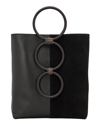 Petra Ring Tote Bag, BLACK, hi-res
