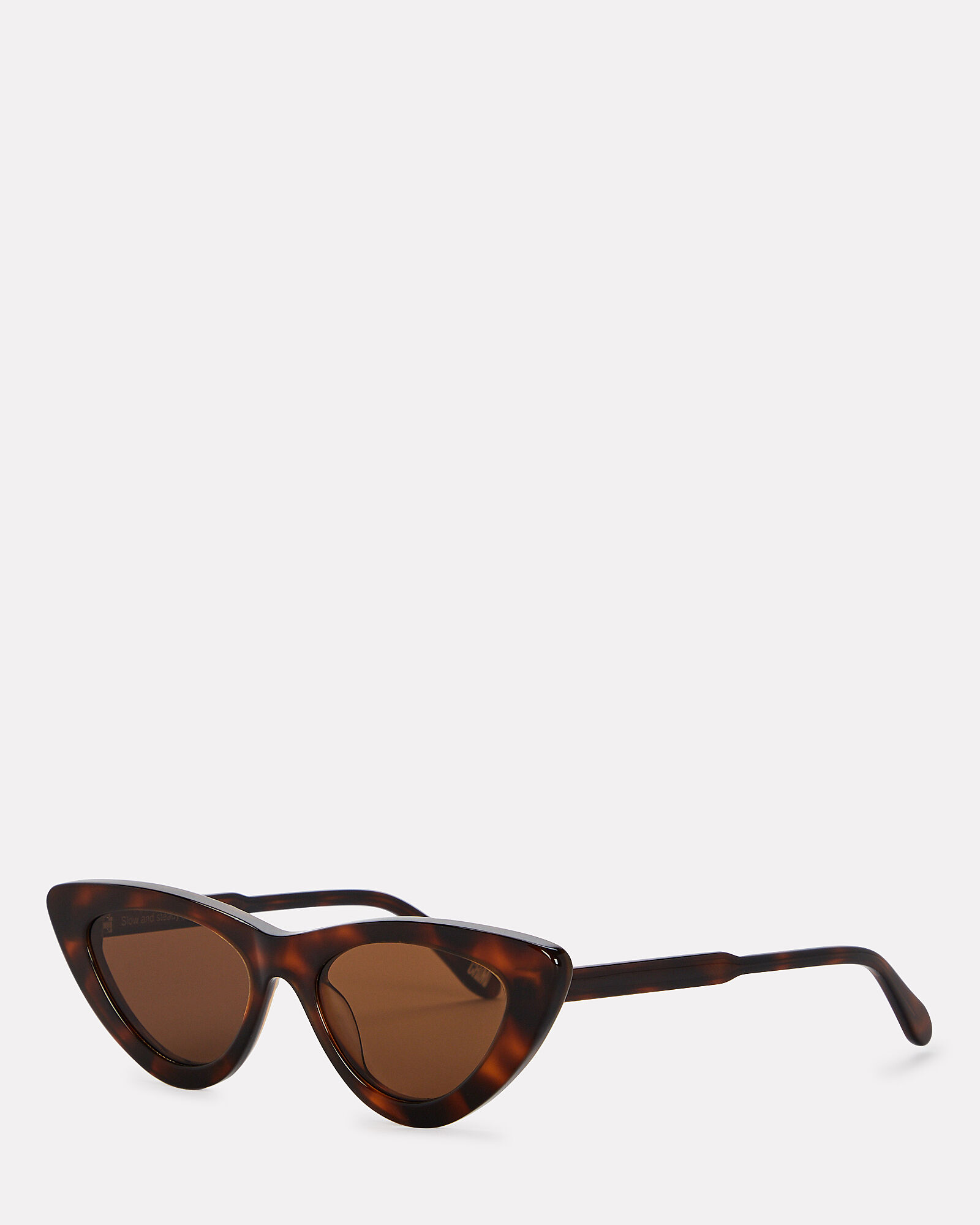 006 Cat Eye Sunglasses, BROWN, hi-res