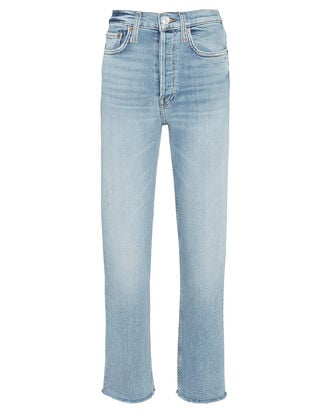 70s High-Rise Stove Pipe Jeans, LIGHT STONE, hi-res