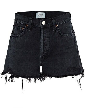 Parker Cut-Off Denim Shorts, VORTEX, hi-res