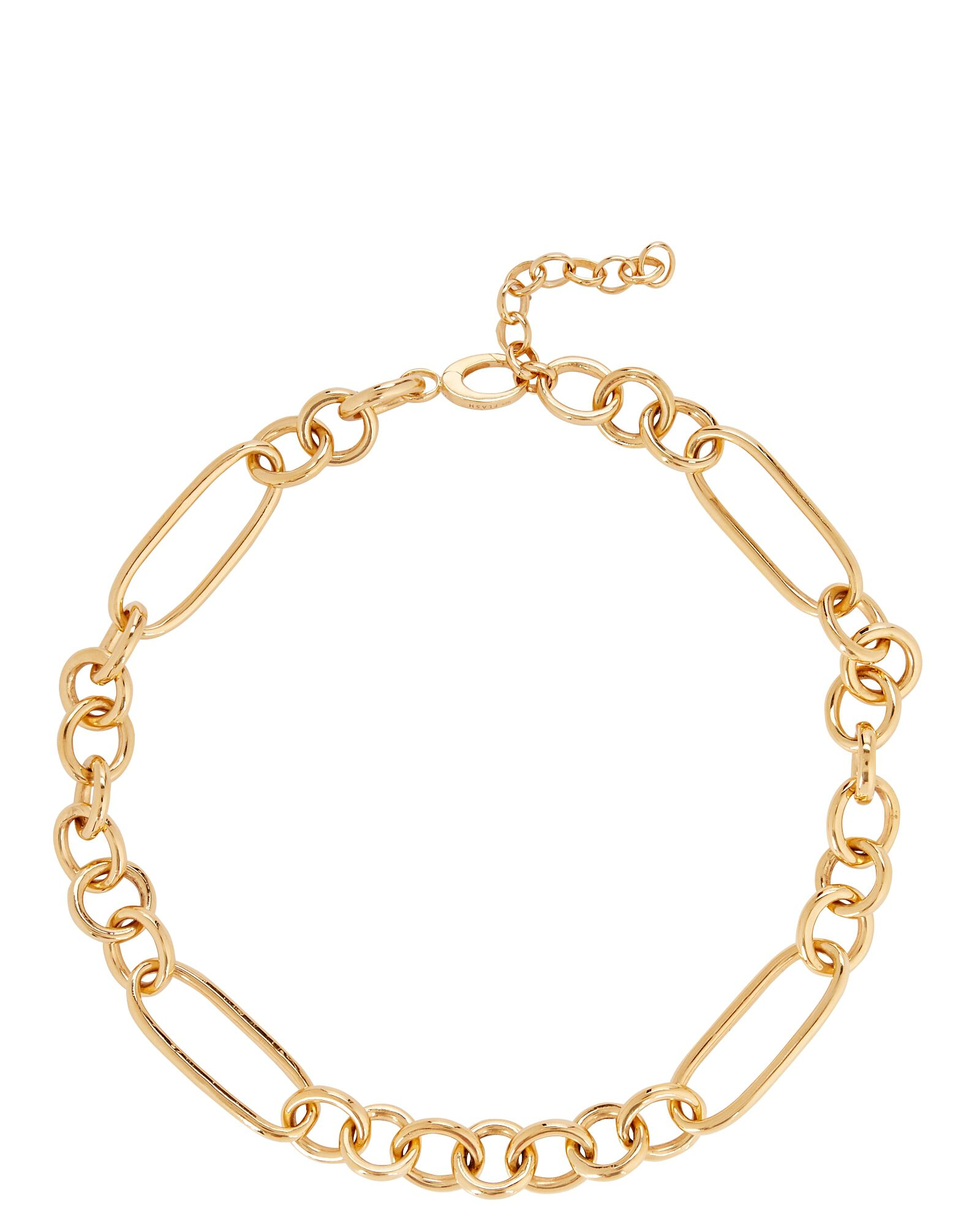 Leisure Chain-Link Necklace, GOLD, hi-res