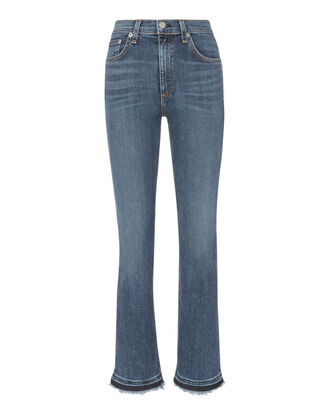 Hana Mini Boot Cropped Jeans, DENIM, hi-res