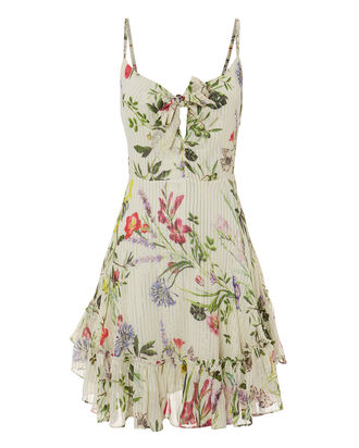 Flora Tie Front Sundress, MULTI, hi-res