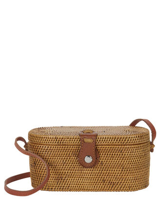 Camilla Box Shoulder Bag, BEIGE, hi-res