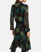 Reese Floral Georgette Dress, MULTI, hi-res