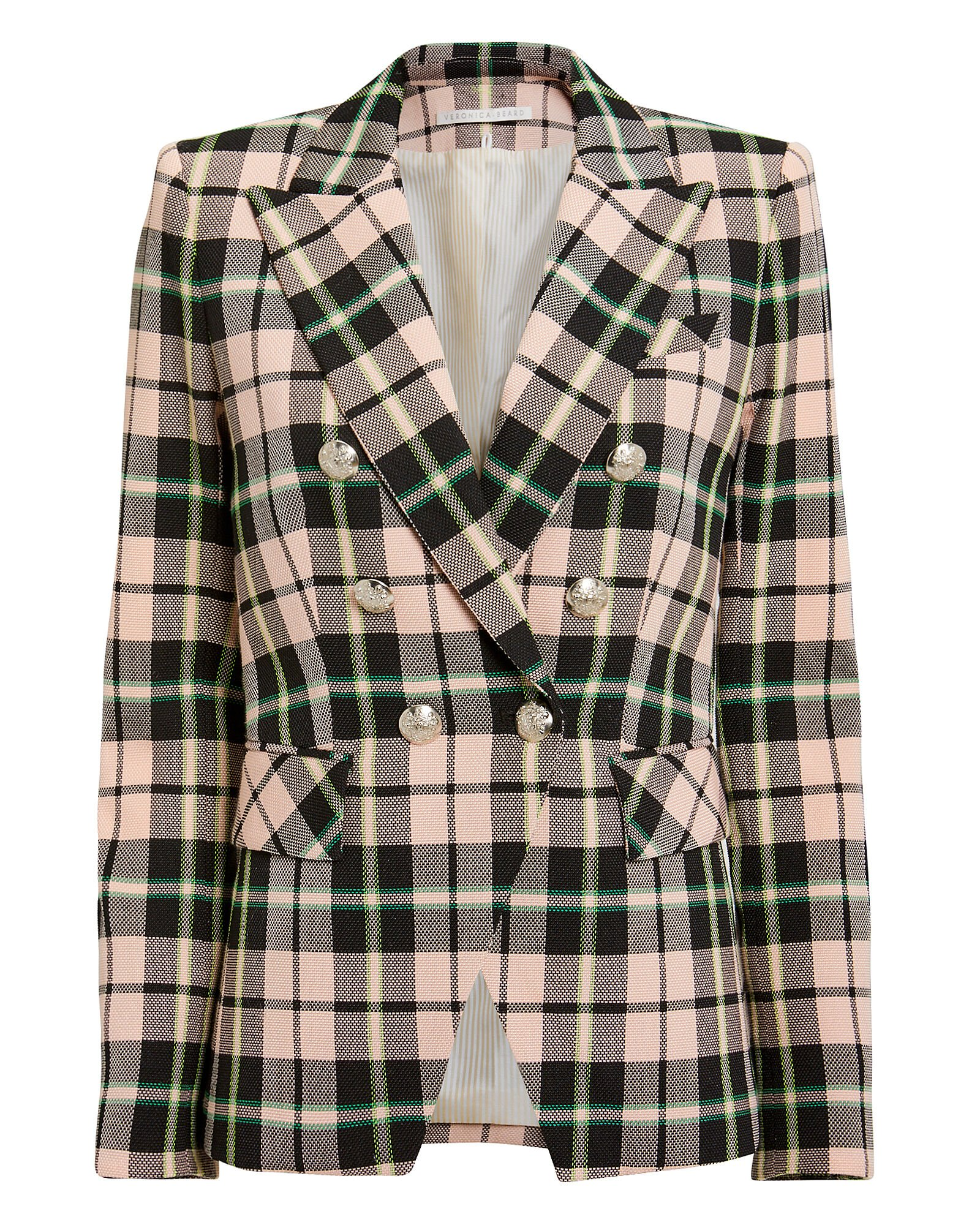 Miller Double-Breasted Blazer, MULTI, hi-res