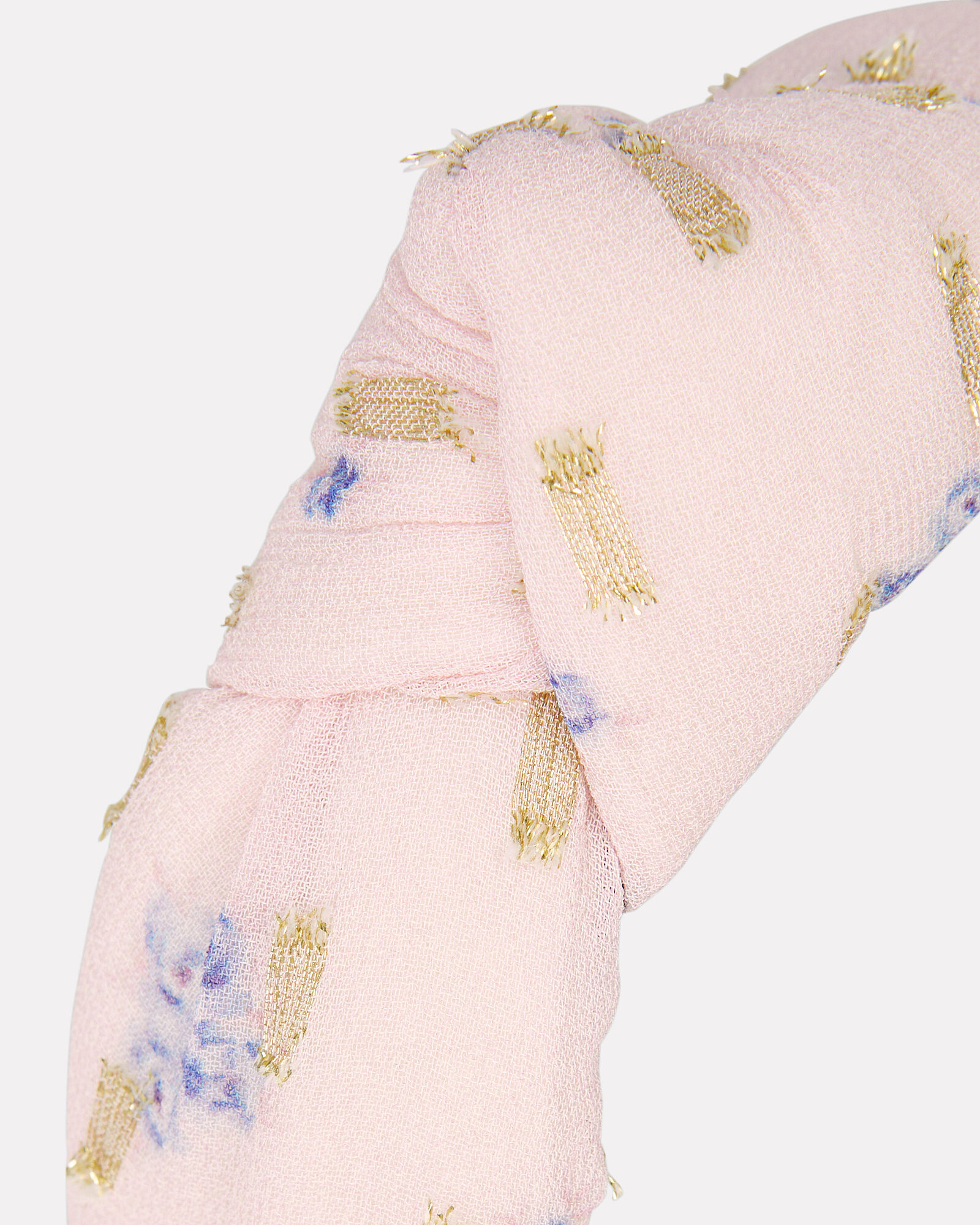 Maybell Knotted Headband, PINK, hi-res
