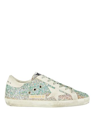 Superstar Glitter Low-Top Sneakers, MULTI, hi-res
