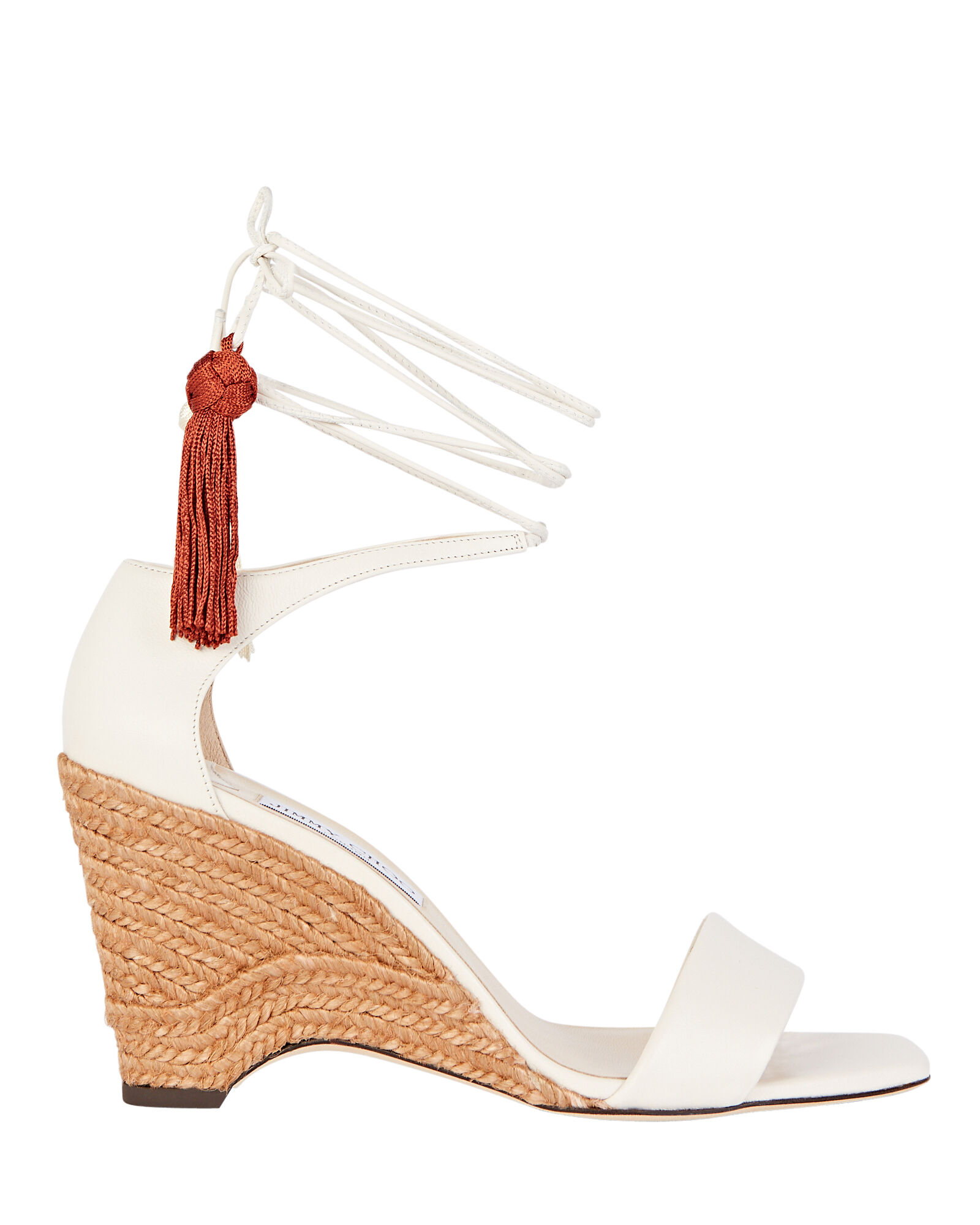 Deva 85 Ankle Wrap Wedges, IVORY, hi-res