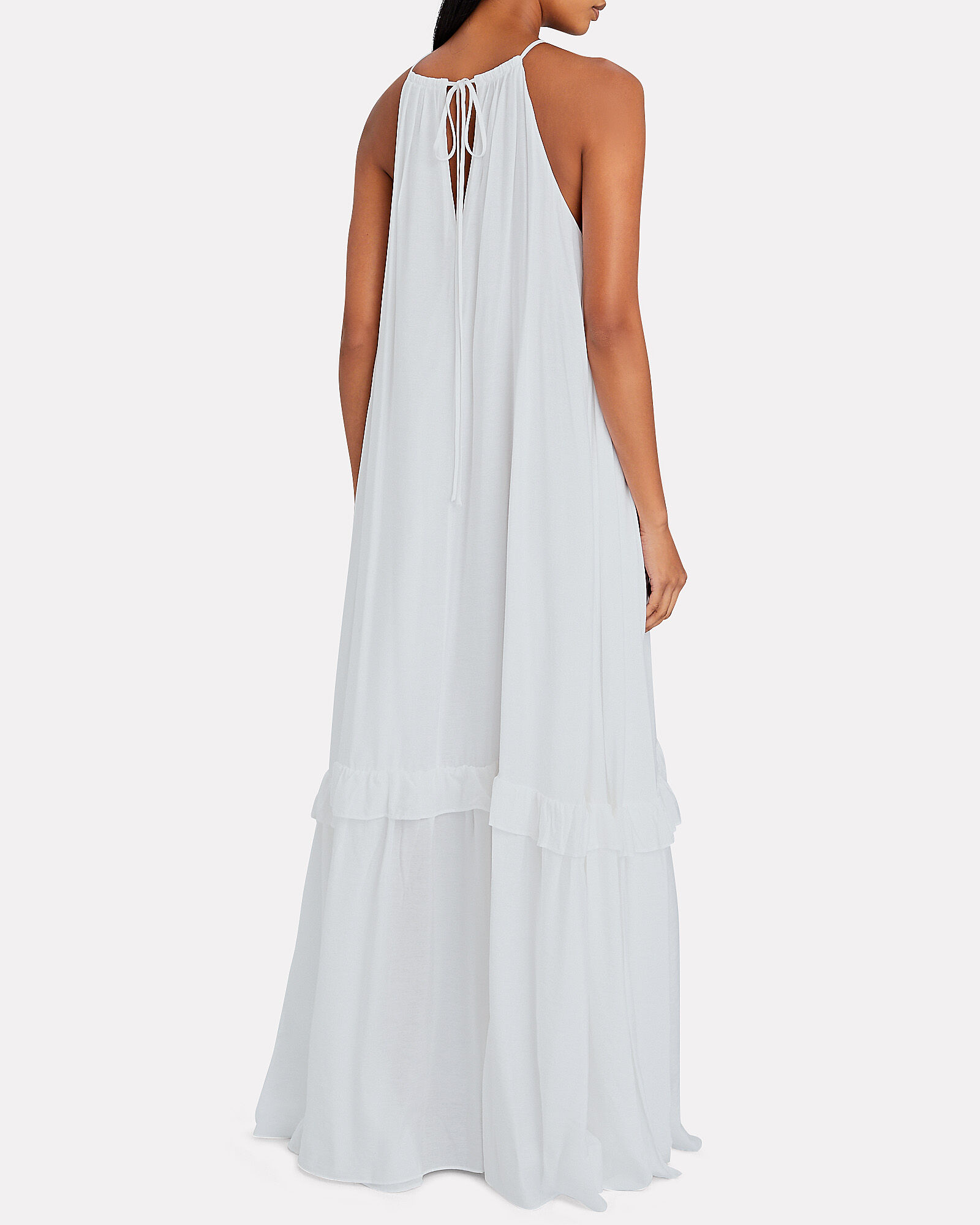 Ina Sleeveless Maxi Dress, WHITE, hi-res