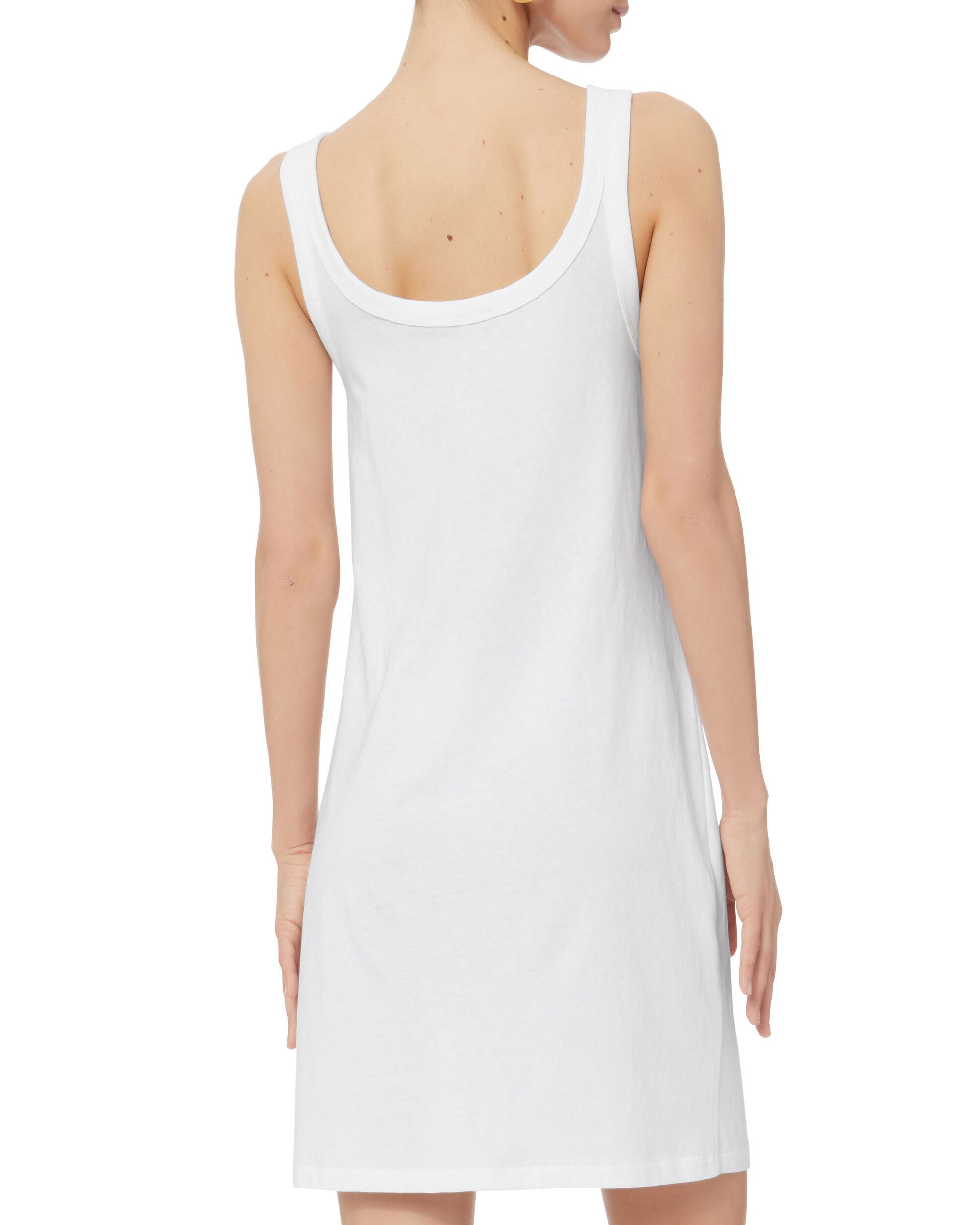 White Tank Dress, WHITE, hi-res