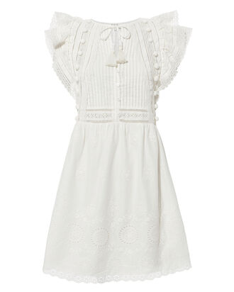 Sofie Lace Tunic Dress, IVORY, hi-res