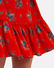 Kocchar Fiery Red Shift Dress, RED, hi-res