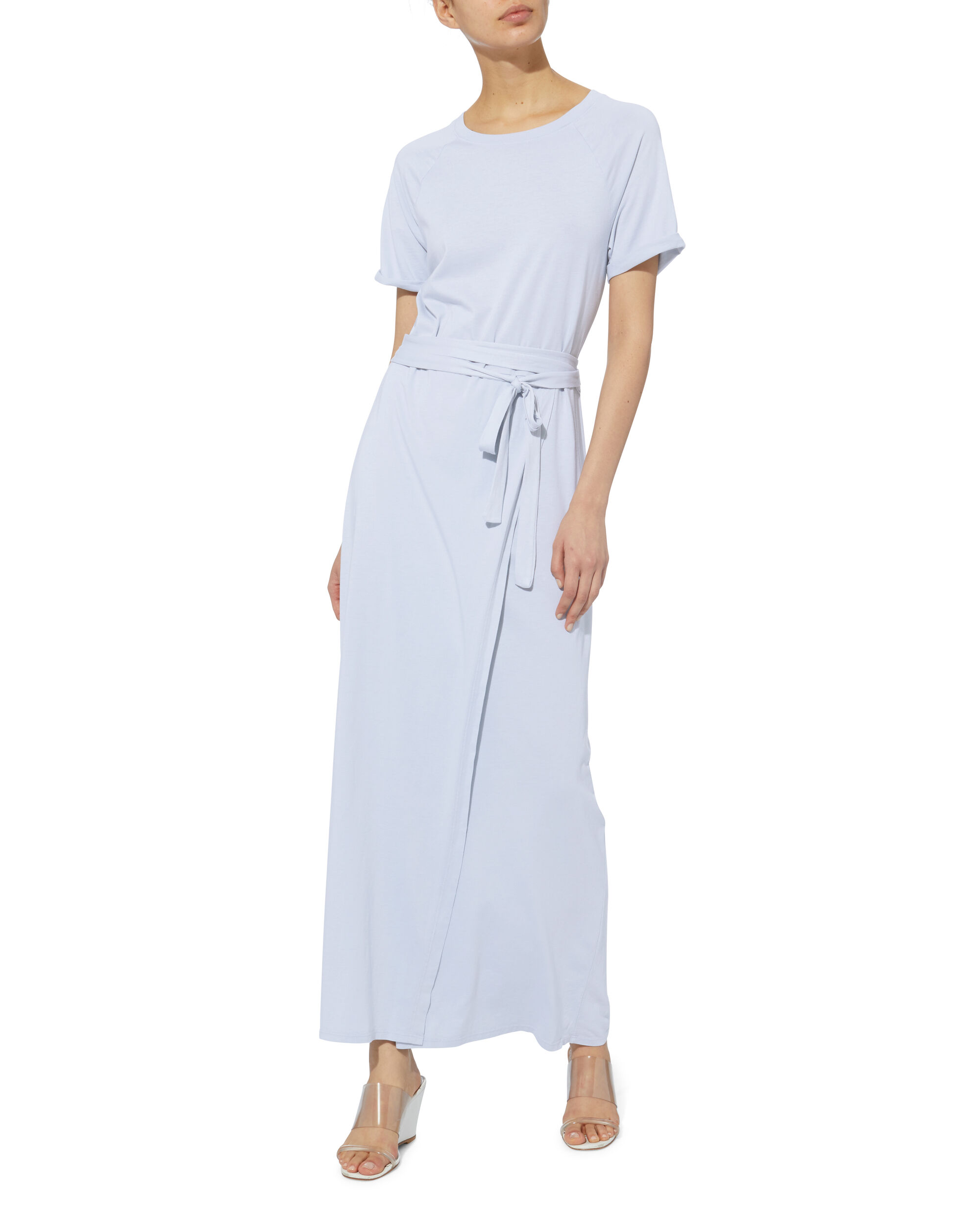 Welles Cotton Midi Dress, WHITE, hi-res