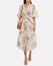 Wayfarer Tropical Shirtdress, BEIGE/FLORAL, hi-res