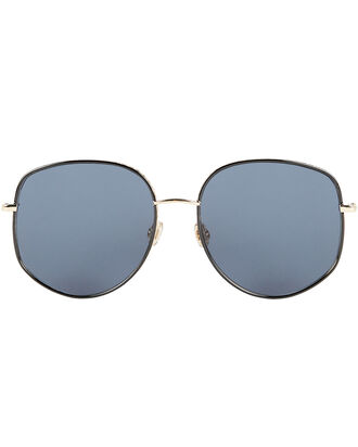 DiorByDior2 Pilot Sunglasses, DARK BLUE/GOLD, hi-res
