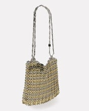 Iconic 1969 Metal Chain Mail Bag, SILVER/GOLD, hi-res