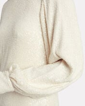 Lunia Sequined Shift Dress, IVORY, hi-res