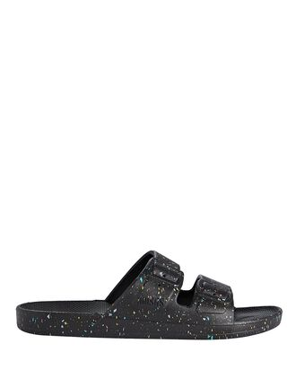 Supernova Moses Two Band Slide, BLACK, hi-res