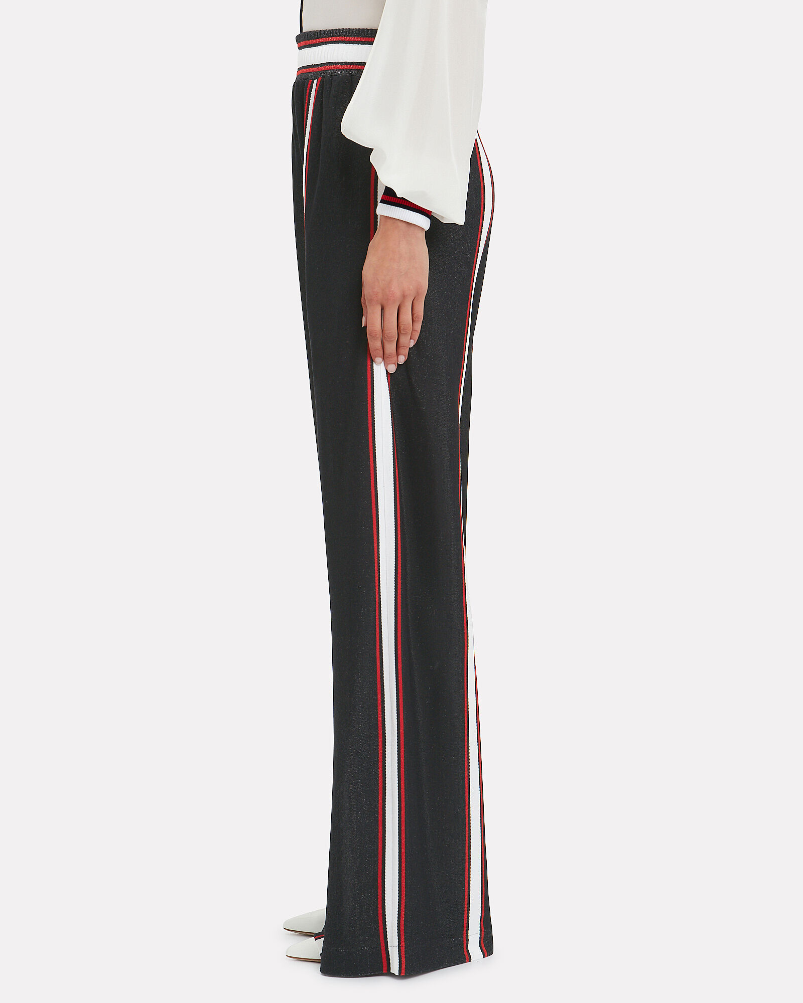Sophie Striped Wide Leg Pants, NAVY, hi-res