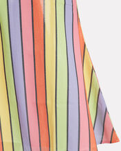 Penelope Rainbow Sequin Striped Skirt, MULTI, hi-res