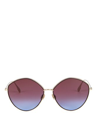 DiorSociety2F Round Sunglasses, GOLD, hi-res