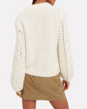 Julliard Mohair Sweater, IVORY, hi-res
