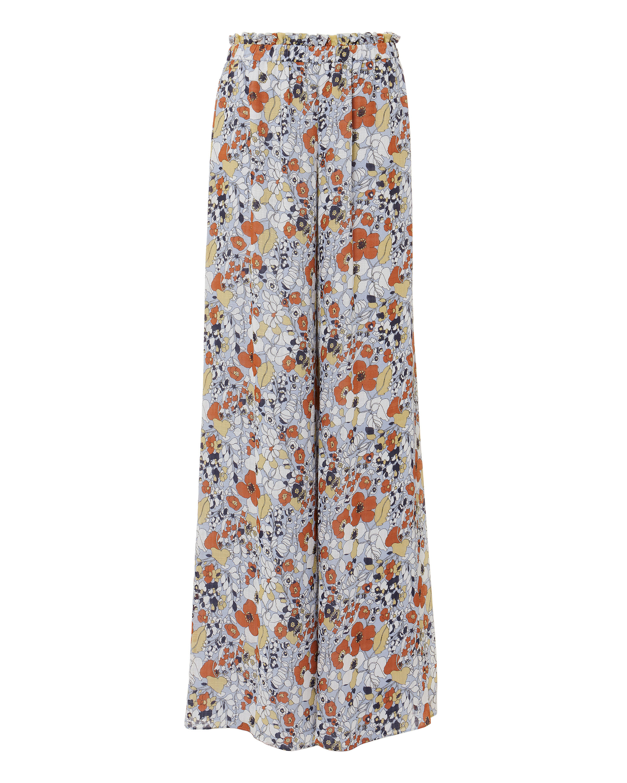 Zain Floral Pants, MULTI, hi-res