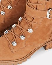 S-Inaiah Suede Hiking Boots, BROWN, hi-res