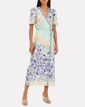 Erica Floral Voile Dress, MULTI, hi-res