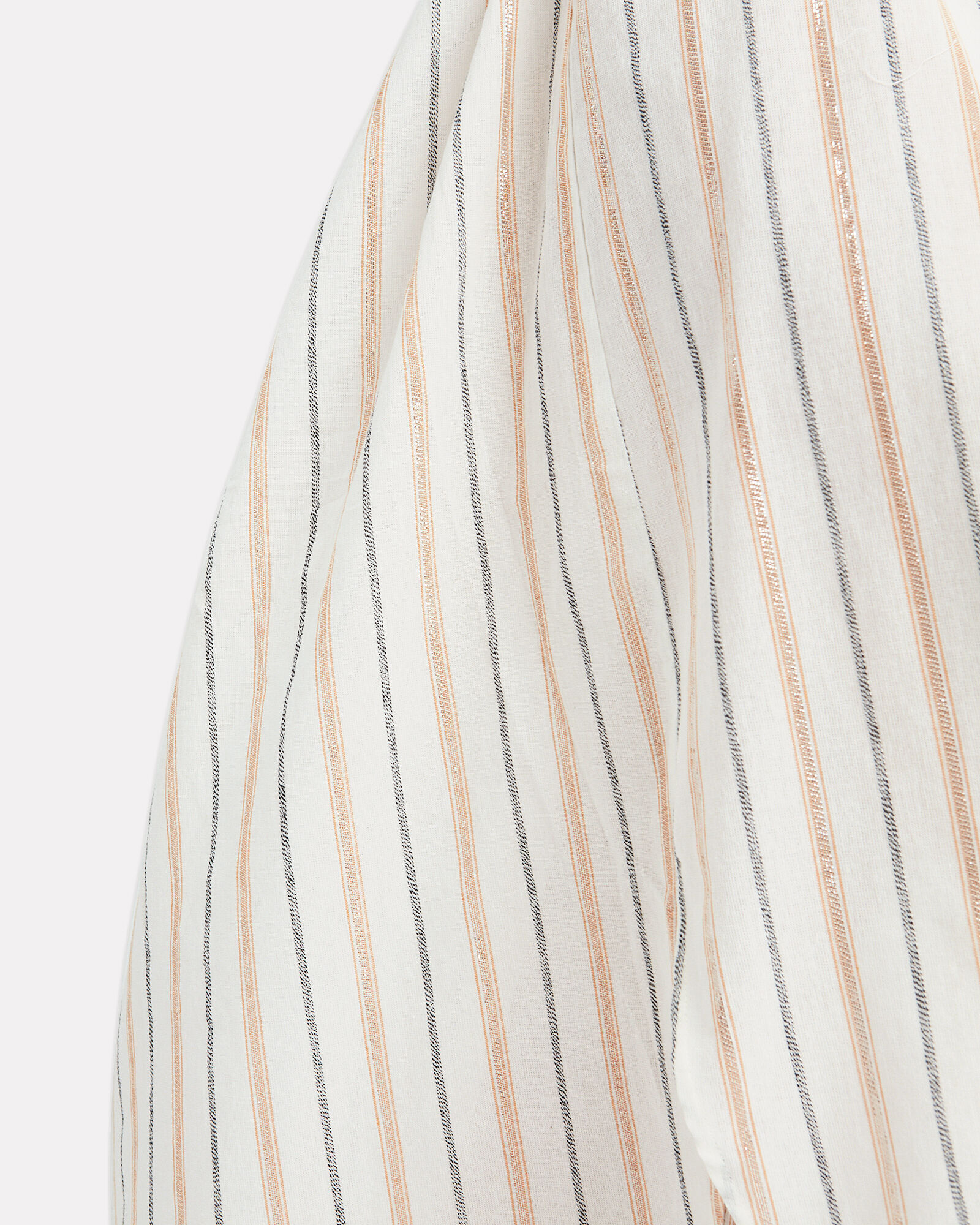 Anyway Lurex Shirt Dress, IVORY/STRIPES, hi-res