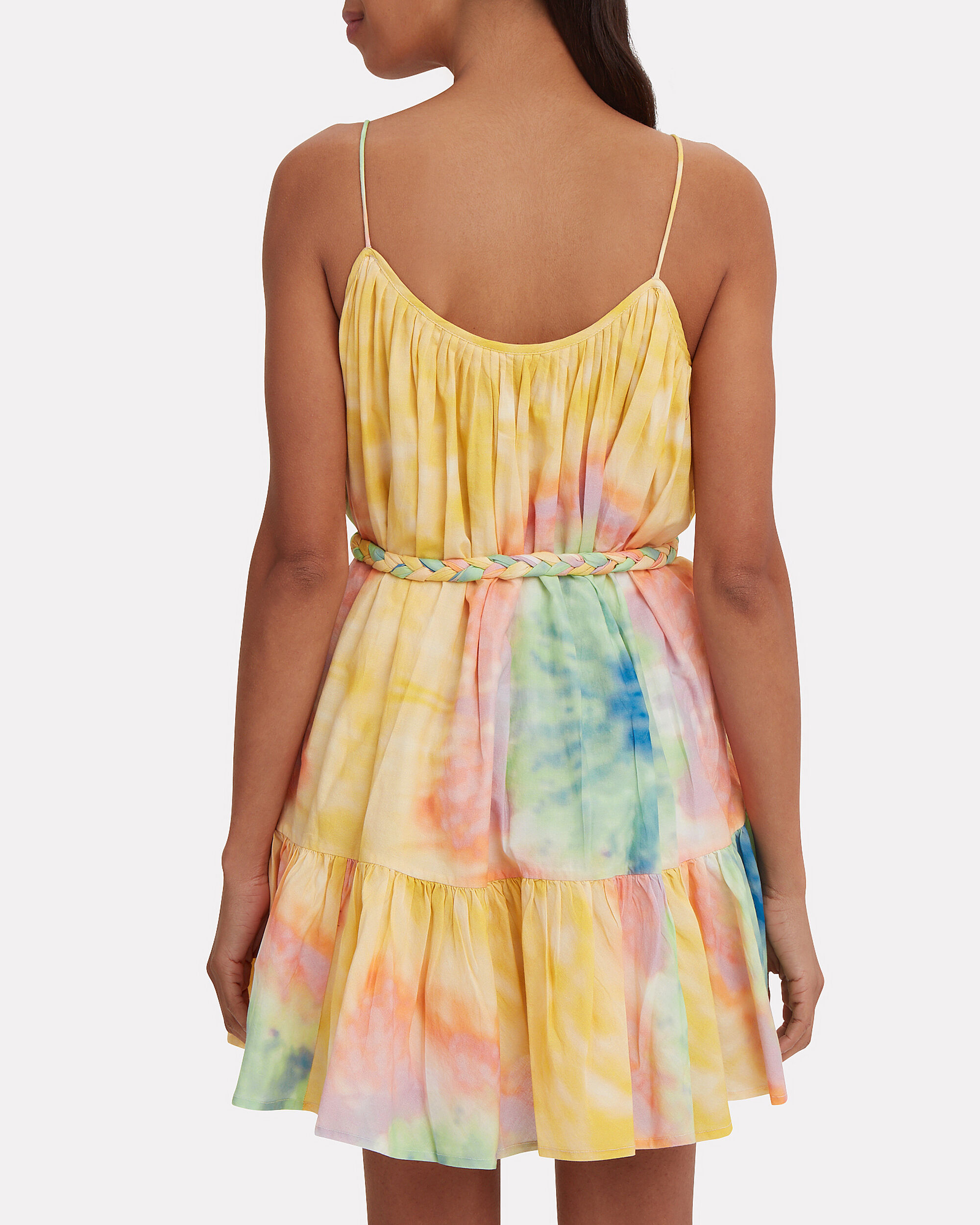 Nala Tie-Dye Mini Dress, TIE-DYE, hi-res