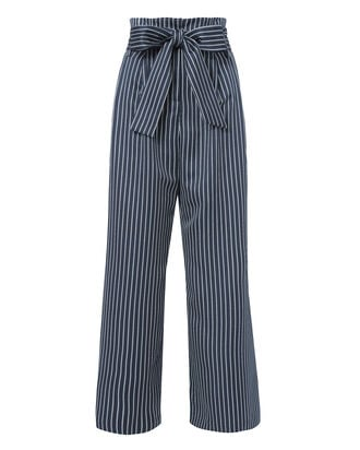 Andy Striped Crop Pants, PATTERN, hi-res