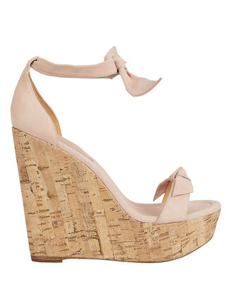 Clarita 120 Suede Wedges, BLUSH, hi-res