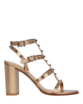 Rockstud Gladiator Heeled Sandals, , hi-res