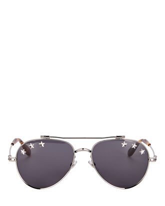 Star Aviator Sunglasses, GREY, hi-res
