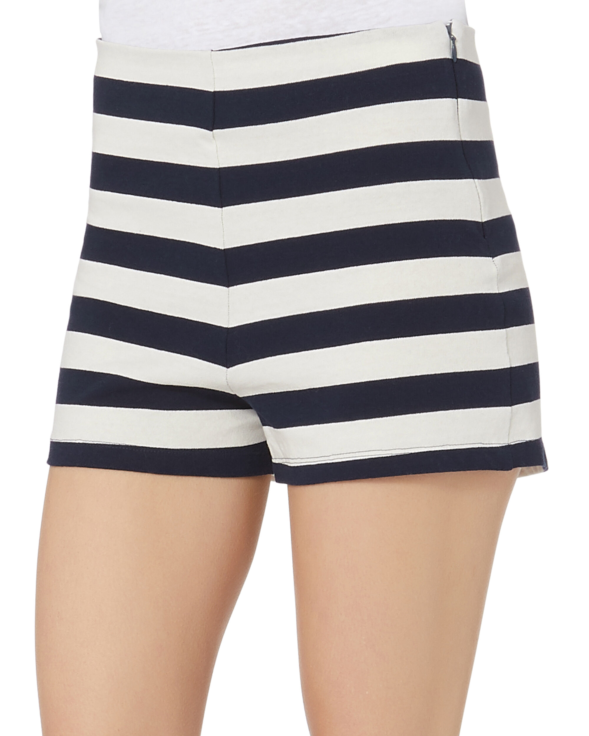 Lucy Striped Shorts, PATTERN, hi-res