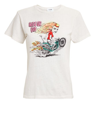 Classic Ride Or Die T-Shirt, IVORY, hi-res